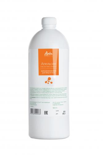 Альпика   Массажный фитобиокомплекс для лица и тела, Апельсин, 1000мл