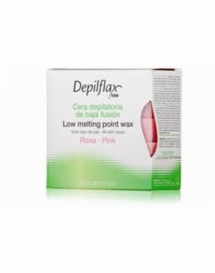 Depilflax |Горячий воск в брикетах Depilflax 100, розовый, 500 гр